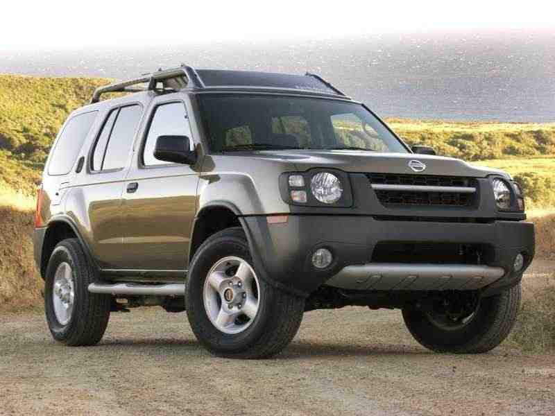 nissan xterra первого поколения, 2000–2004