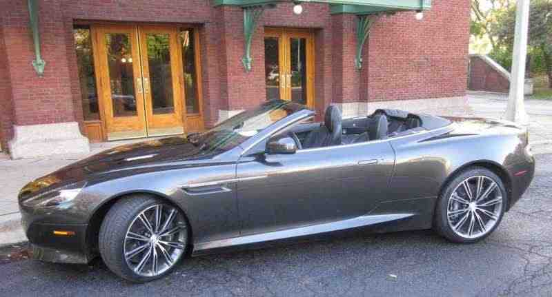Aston Martin Virage 1 поколение Volante кабриолет