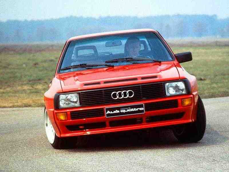 Audi Quattro 85купе 2.2 Turbo MT 1987–1989