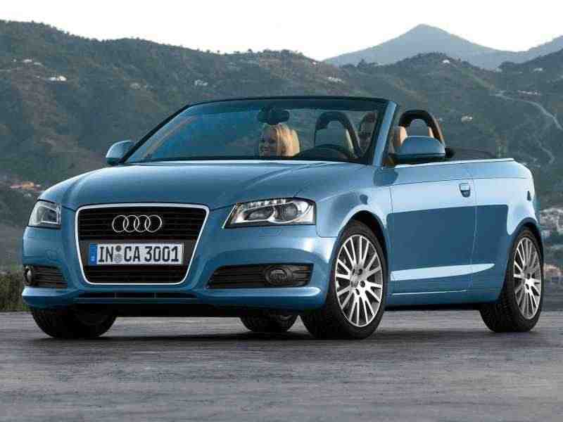 Audi A3 8P/8PA [2-й рестайлинг] кабриолет 2.0 TFSI MT Attraction 2008–2013