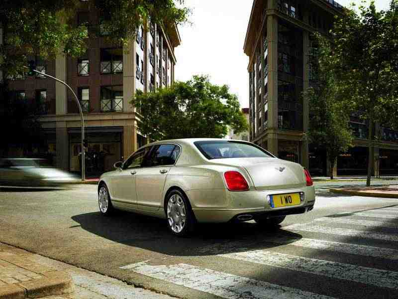 Bentley Continental Flying Spur 2 поколение  [рестайлинг] седан 4-дв. 6.0 AT 2008–2013
