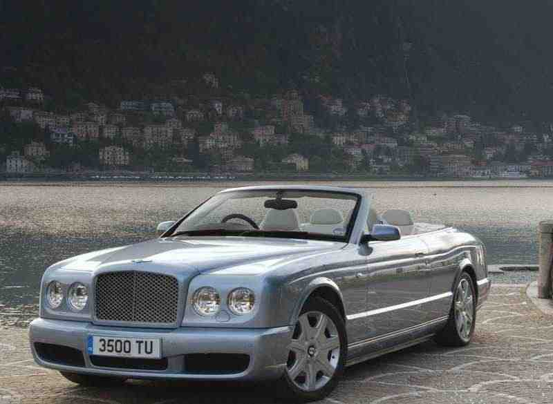 Bentley Azure 2 поколение кабриолет 2-дв. 6.75 Twin-Turbo AT 2007–2011