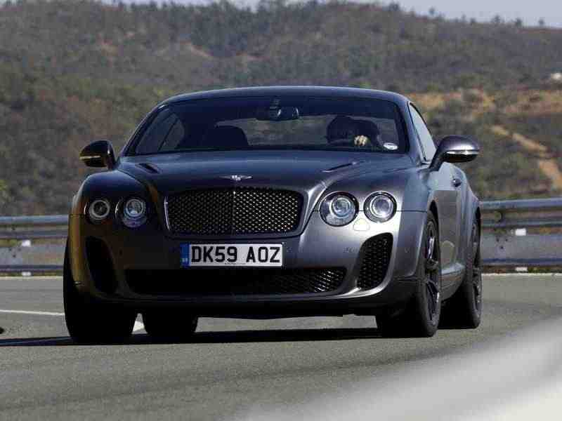 Bentley Continental Supersports 1 поколение купе 6.0 AT 2010–н. в.