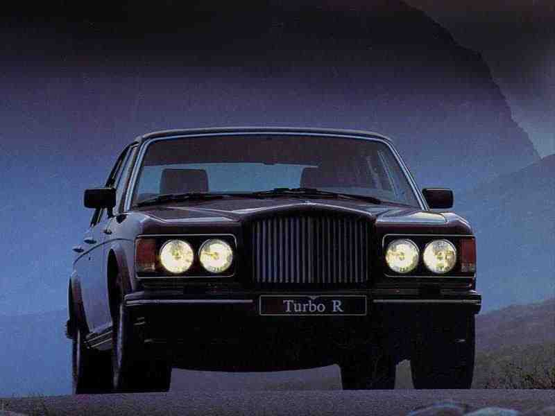 Bentley Turbo R 1 поколение седан 6.75i AT Turbo 1993–1998