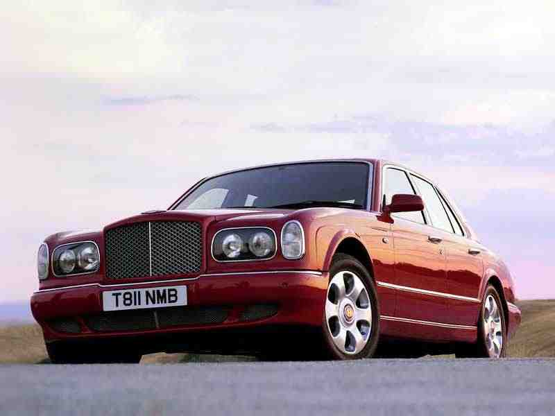 Bentley Arnage 1 поколение седан 4.4 AT Turbo 1998–2002