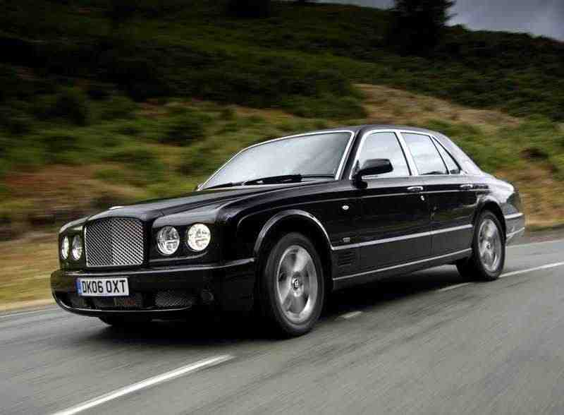 Bentley Arnage 2 поколение RL седан 4-дв. 6.8 Twin-Turbo AT 2006–2009