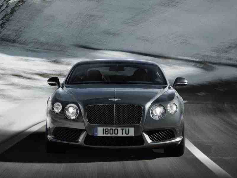 Bentley Continental GT 2 поколение V8 купе 2-дв. S 4.0 AT Базовая 2013–н. в.
