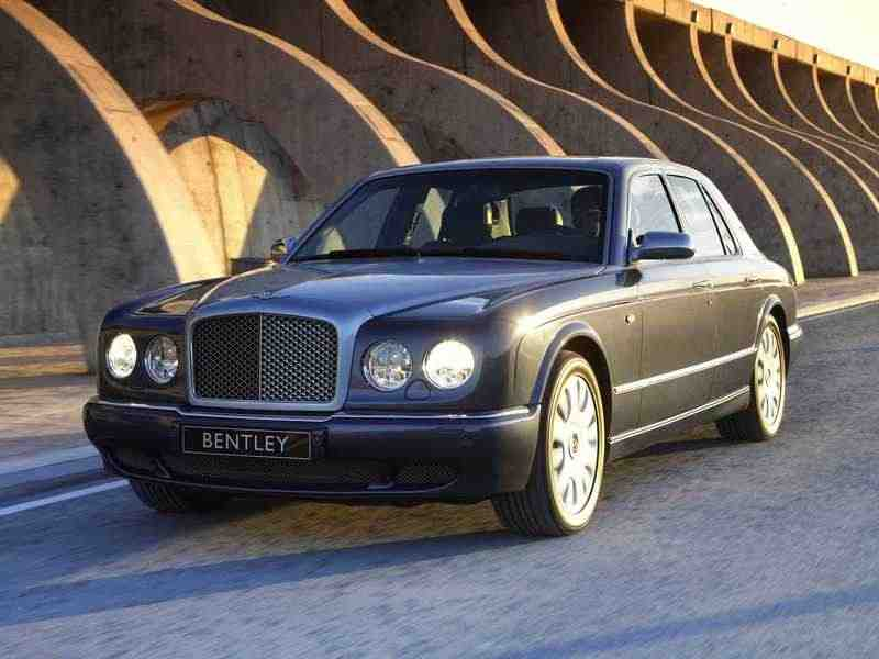 Bentley Arnage 2 поколение R седан 4-дв. 6.75 Twin-Turbo AT 2002–2006