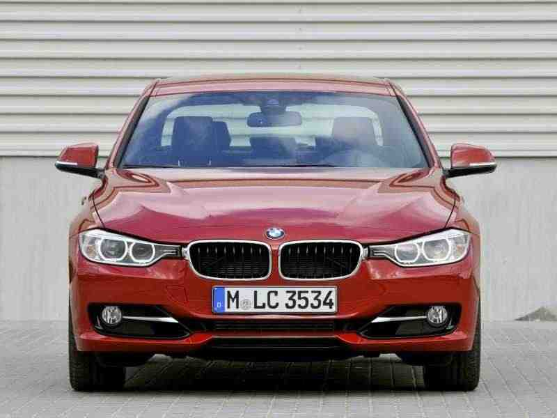 BMW 3 серия F30/F31седан 320d EfficientDynamics Edition MT 2012–н. в.