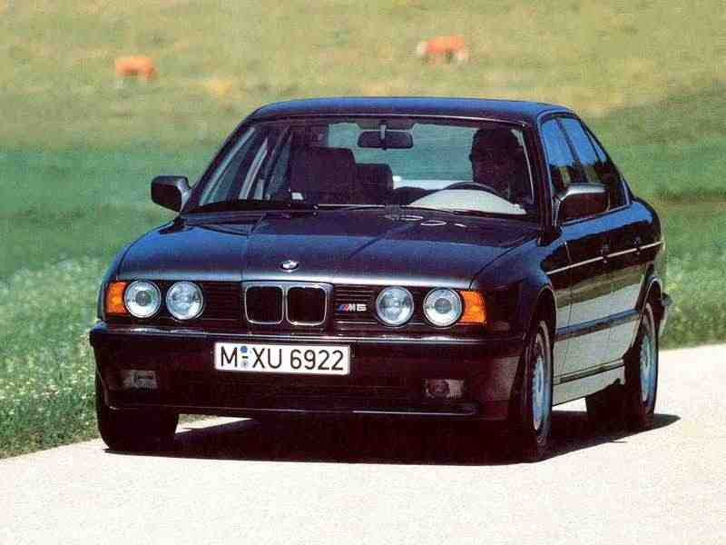 BMW M серия E34_5 серияседан 3.5 MT  Naghi Motors 1992–1992