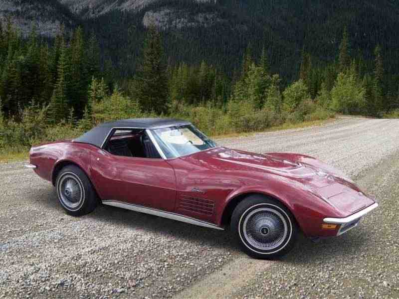 Chevrolet Corvette C3 [рестайлинг] Sting Ray кабриолет 7.4 Turbo Hydra-Matic 1971–1972