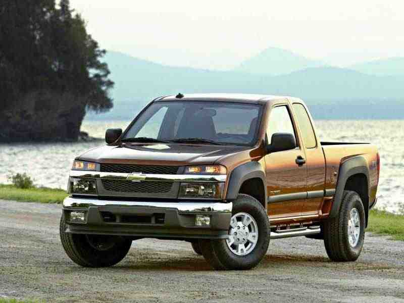Chevrolet Colorado 1 поколение Extended Cab пикап 2-дв. 3.5 MT 2004–2006