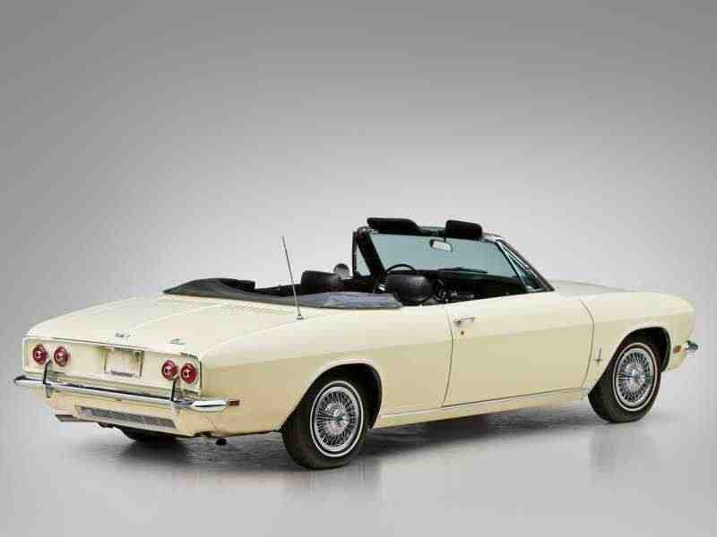 Chevrolet Corvair 2 поколение  [рестайлинг] кабриолет 2.7 Turbocharged 4MT 1966–1967