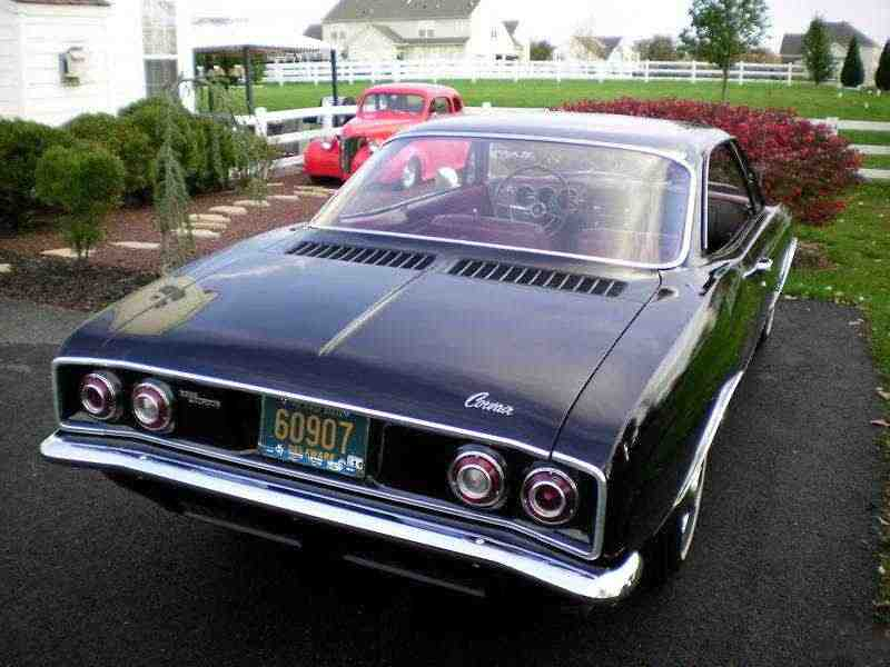 Chevrolet Corvair 2 поколение купе 2.7 Turbocharged 4MT 1965–1965