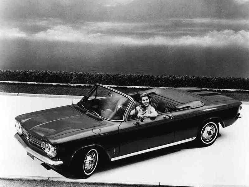 Chevrolet Corvair 1 поколение  [2-й рестайлинг] кабриолет 2.4 4Synchromesh 1962–1962