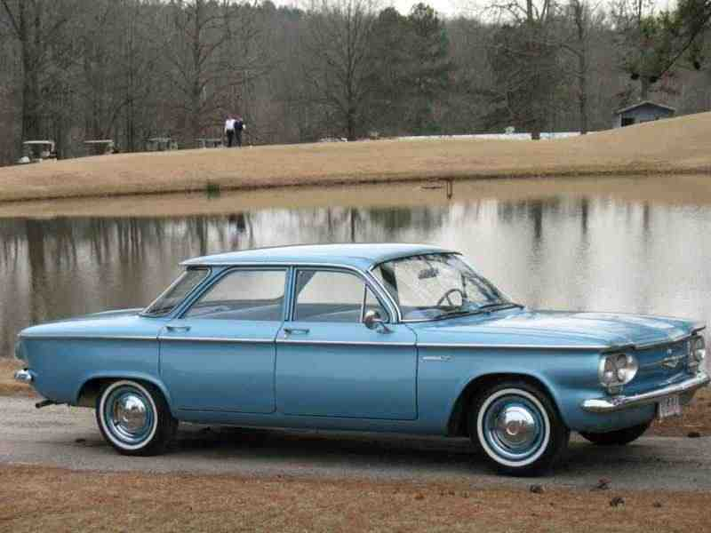 Chevrolet Corvair 1 поколение  [рестайлинг] седан 2.4 4Synchromesh 1961–1961