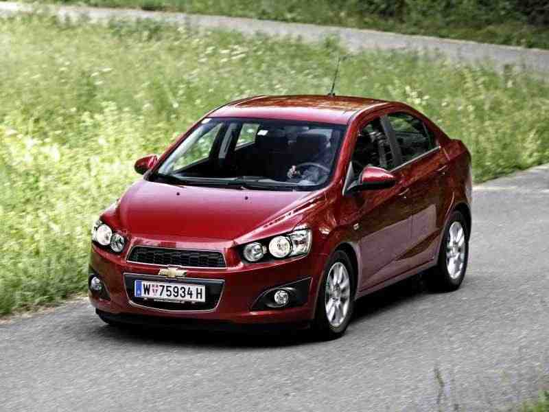 Chevrolet Aveo T300седан 1.6 MT LT Alloy Wheels Pack (2013) 2012–н. в.