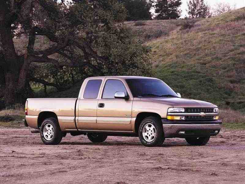 Chevrolet Silverado GMT800Extended Cab пикап 4-дв. 6.6 TD 5AT 4WD 2500HD 1999–2002