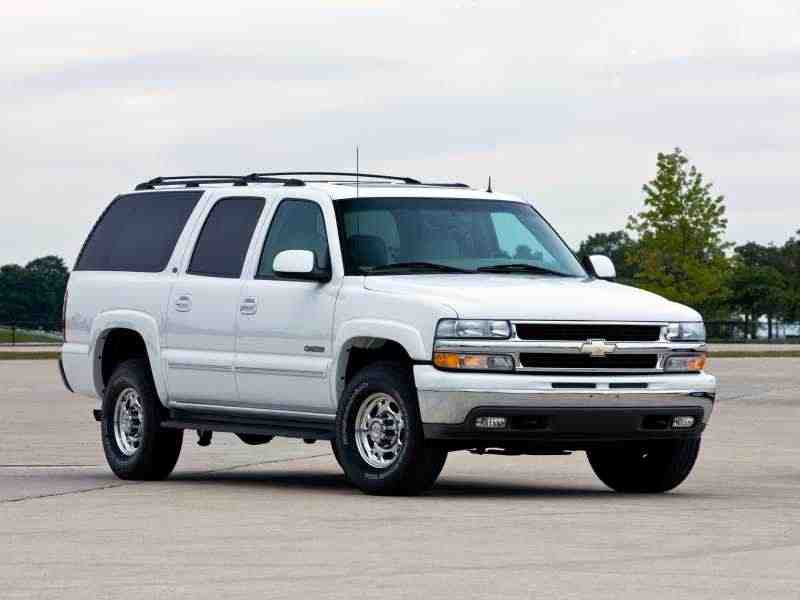 Chevrolet Suburban GMT800внедорожник 5.3 FlexFuel AT 4WD K1500 2004–2005