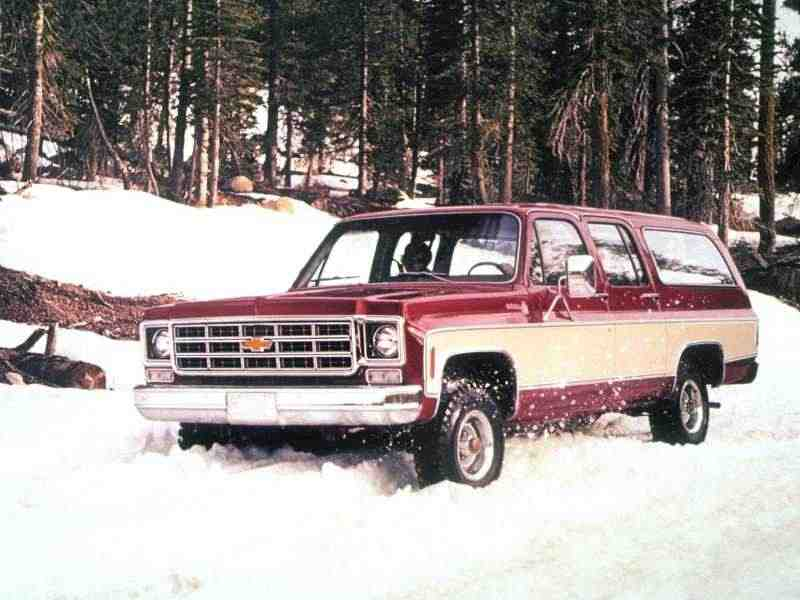 Chevrolet Suburban 8 поколение внедорожник 5.7 K20 3MT Fully Synchronized 4WD 1974–1975