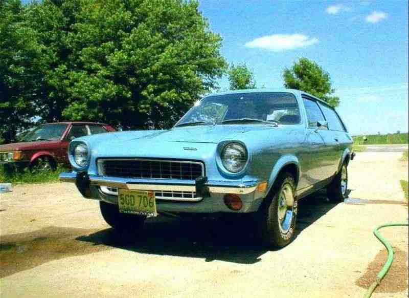 Chevrolet Vega 1 поколение Кammback универсал 2.3 Turbo Hydra-Matic 1972–1973
