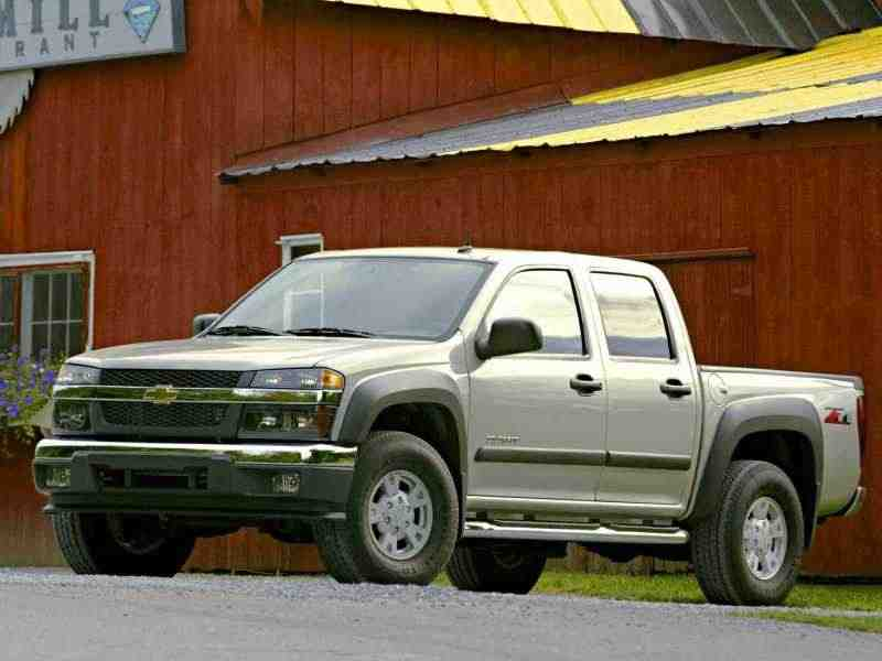 Chevrolet Colorado 1 поколение Crew Cab пикап 4-дв. 2.8 AT 2004–2006