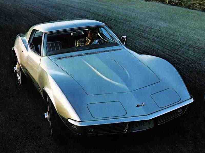 Chevrolet Corvette C3Sting Ray тарга 5.4 Special MT 1968–1968