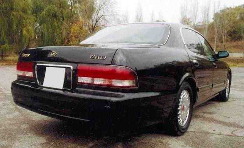 Kia Enterprise 1 поколение седан 3.6 AT 1997–2001