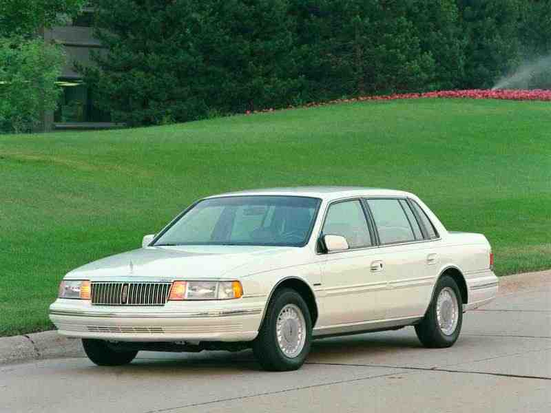 Lincoln Continental 8 поколение седан 3.8 AT 1991–1994