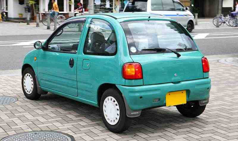 Mazda Carol Autozam Mkхетчбэк 0.7 AT Turbo 1989–1998