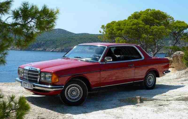 Mercedes-Benz E-Класс w123купе 2-дв. 300 TD AT 1981–1982