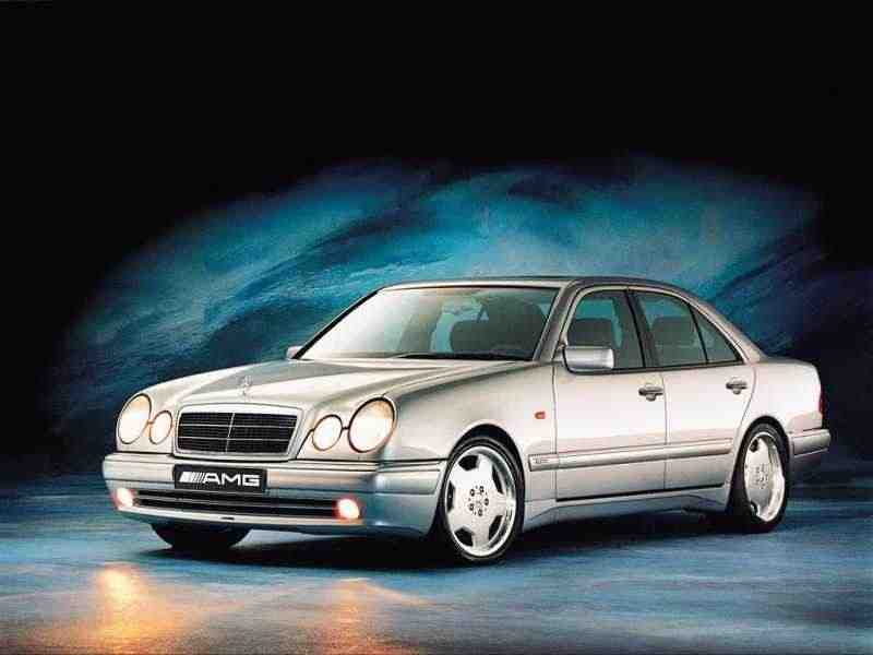 Mercedes-Benz E-Класс W210/S210AMG седан E 55 AT AMG 4MATIC 1999–2002