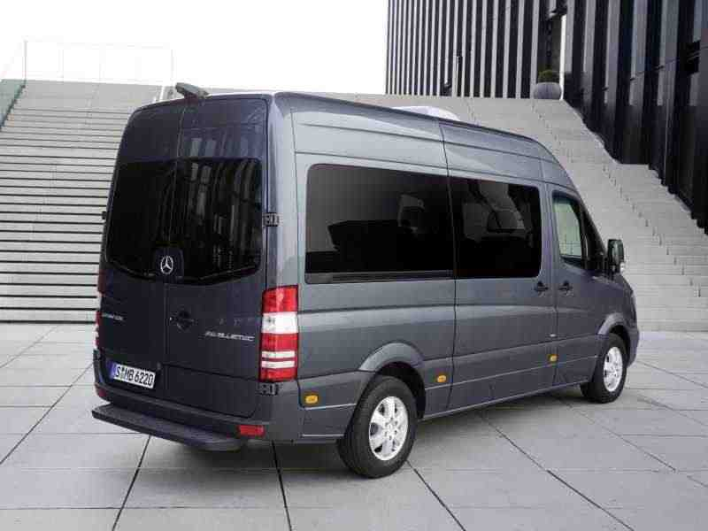 Mercedes-Benz Sprinter W906 [рестайлинг] Микроавтобус 316 MT L2H1 Базовая 2013–н. в.