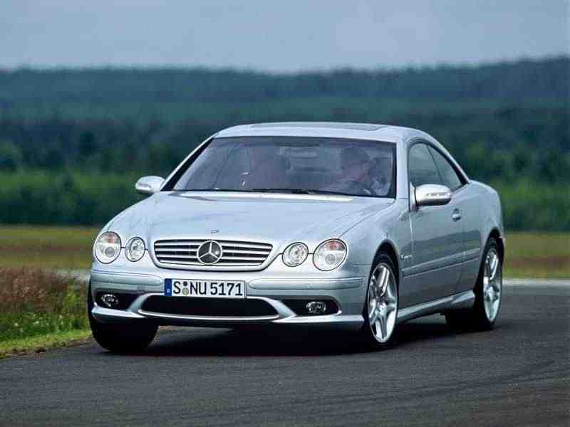 Mercedes-Benz CL-Класс C215AMG купе 2-дв. CL 65 AMG AT 2003–2006