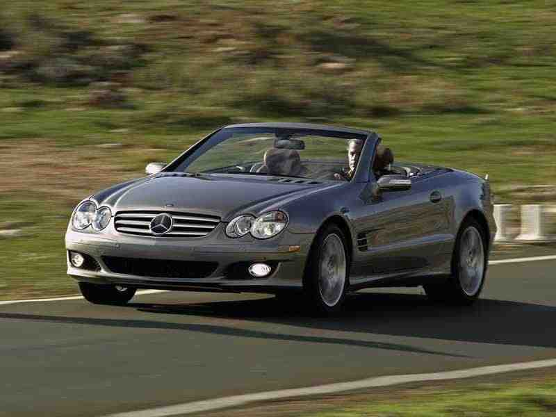 Mercedes-Benz SL-Класс R230родстер SL 350 MT 2006–2008