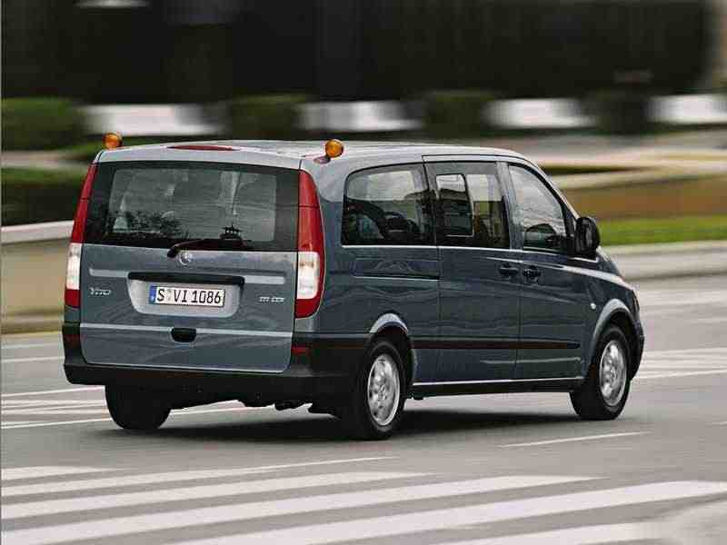 Mercedes-Benz Vito W639Микроавтобус 111 CDI 4MATIC AT L1H1 2003–2010
