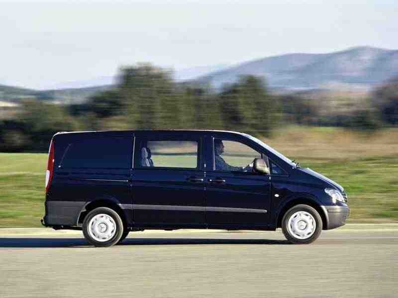 Mercedes-Benz Vito W639Mixto фургон 111 CDI 4MATIC AT L2H2 2003–2010