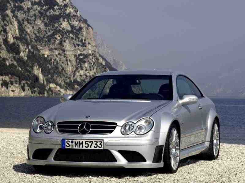 Mercedes-Benz CLK-Класс C209/A209AMG Black Series купе 2-дв. CLK 63 AMG Black Series AT 2007–2009
