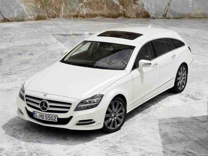 Mercedes-Benz CLS-Класс C218/X218Shooting Brake универсал 5-дв. CLS 500 4Matic 7G-Tronic Plus Базовая 2012–н. в.