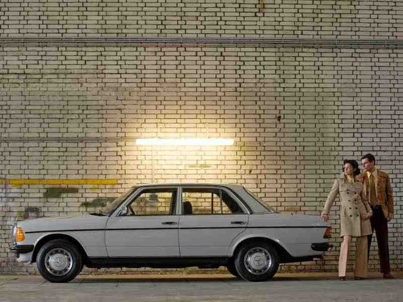 Mercedes-Benz E-Класс w123седан 240 D AT 1978–1985