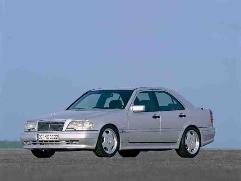 Mercedes-Benz C-Класс W202/S202AMG седан C 43 AMG AT 1997–2000