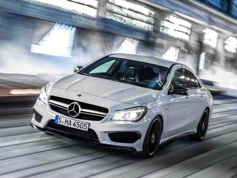 Mercedes-Benz CLA-Класс 1 поколение AMG купе 4-дв. CLA 45 AMG 4Matic Speedshift DCT Особая серия 2013–н. в.