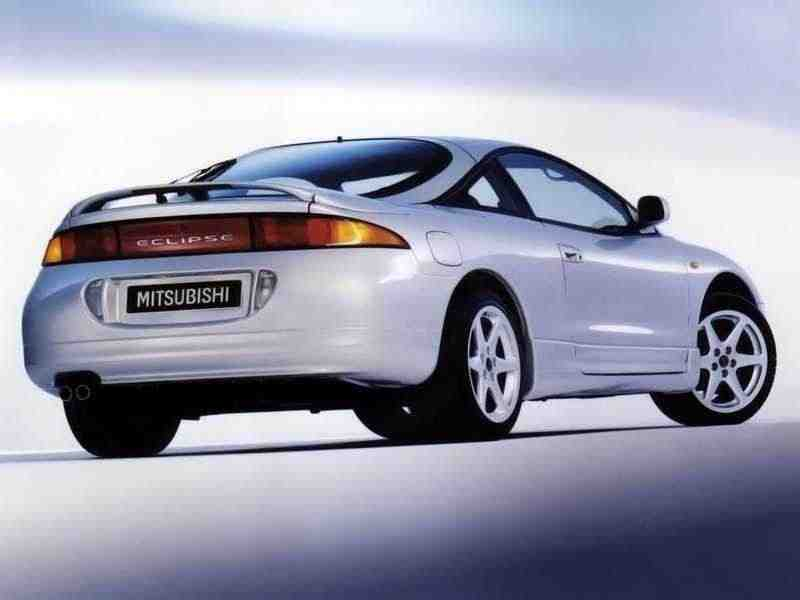 Mitsubishi Eclipse 2Gкупе 2.0 AT T 4WD 1996–1997
