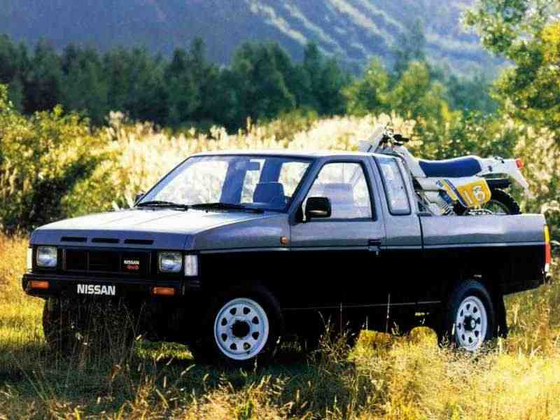 Nissan Pick UP D21King Cab пикап 2-дв. 2.0 AWD MT 1985–1992