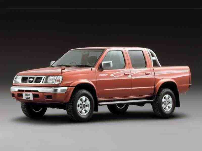 Nissan Pick UP D22Crew Cab пикап 4-дв. 3.2 D AWD AT 1997–2001