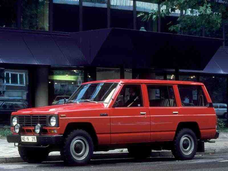 Nissan Safari 160Station Wagon AD универсал 3.2 D T 4WD MT 1980–1983