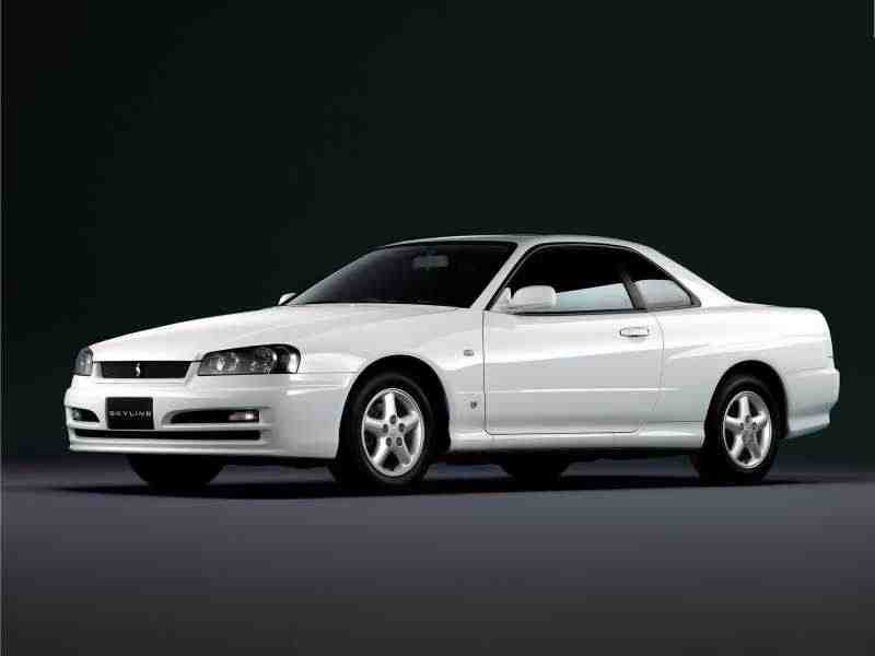 Nissan Skyline r34GT купе 2-дв. 2.5 AT 4WD 1998–2002