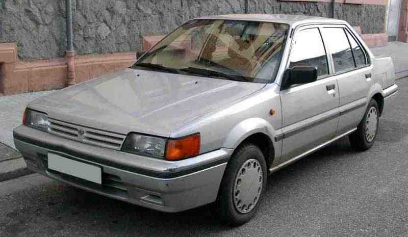 Nissan Sunny N13седан 1.6 4WD AT 1986–1990