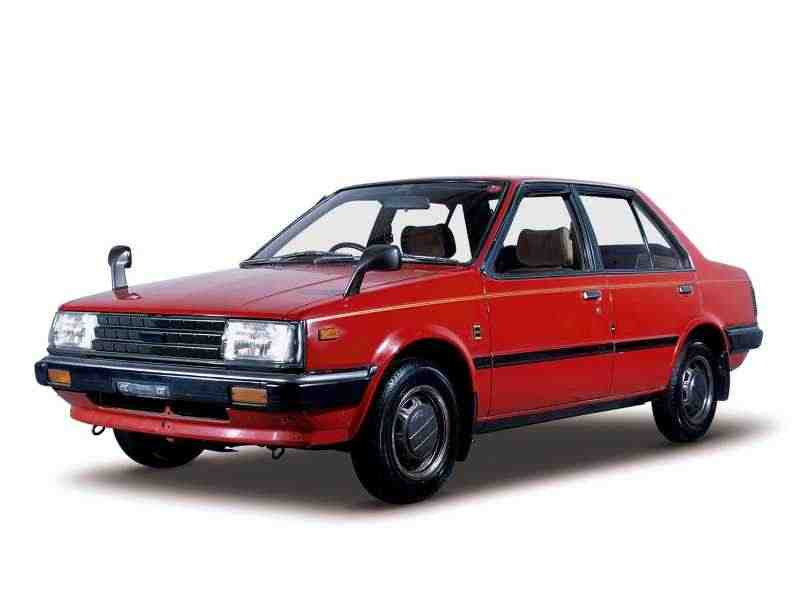 Nissan Sunny B11седан 1.7 D AT 1982–1985