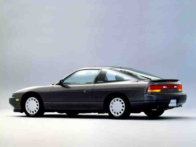 Nissan 180SX RPS13лифтбэк 1.8 turbo MT 1988–1991